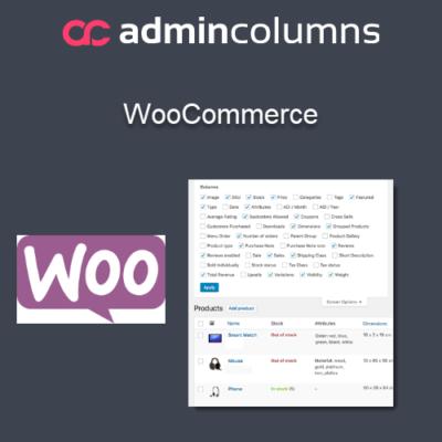 Admin Columns Pro for WooCommerce