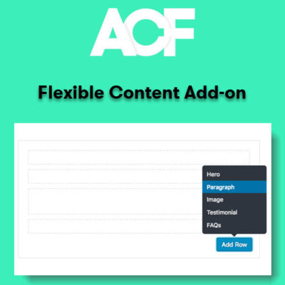 Advanced Custom Fields Flexible Content Addon