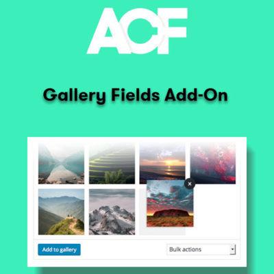Advanced Custom Fields Gallery Fields Add-On