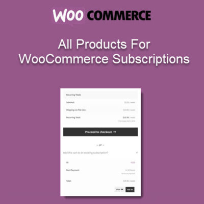 All Products for WooCommerce Subscriptions