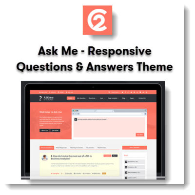 Ask Me - Responsive Questions & Answers Theme