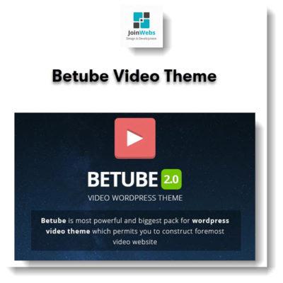 Betube Video Theme