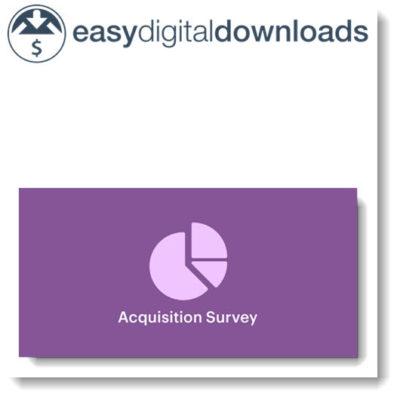 Easy Digital Downloads Acquisition Survey