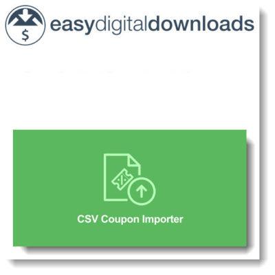 Easy Digital Downloads Coupon Importer
