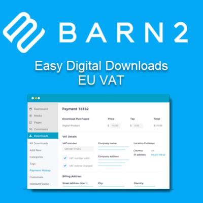 Barn2 Easy Digital Downloads - EU VAT