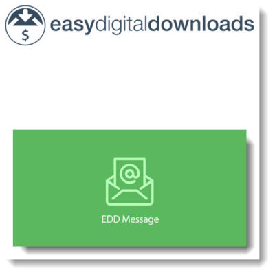 Easy Digital Downloads Message