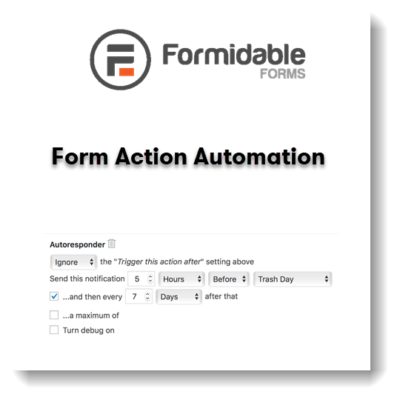 Formidable Forms – Form Action Automation