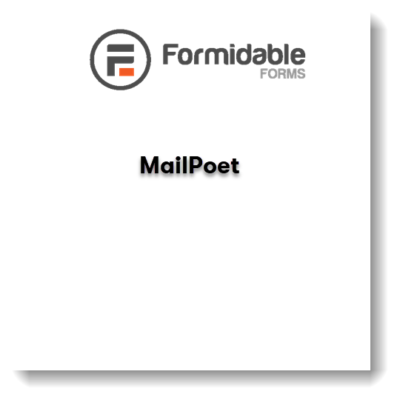 Formidable Forms – MailPoet Newsletters