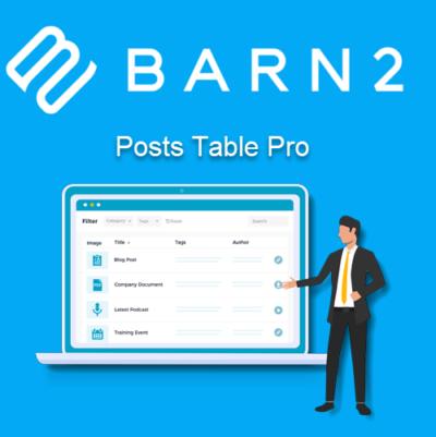 Barn2 Posts Table Pro