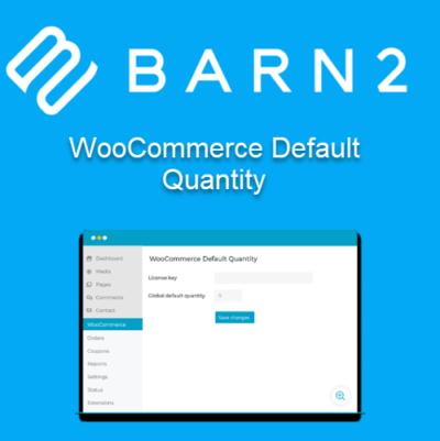 Barn2 WooCommerce Default Quantity