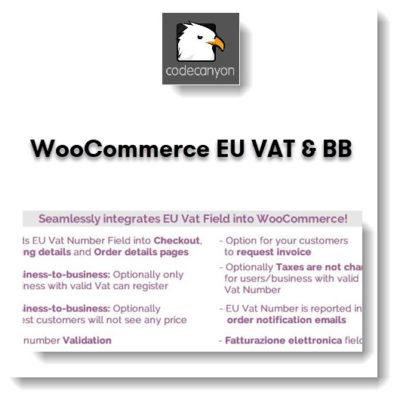 WooCommerce EU VAT & BB