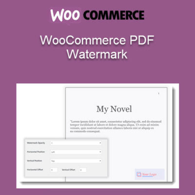WooCommerce PDF Watermark