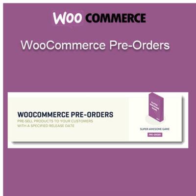 WooCommerce Pre-Orders