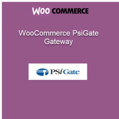 WooCommerce PsiGate Gateway