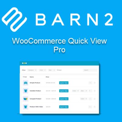 Barn2 WooCommerce Quick View Pro