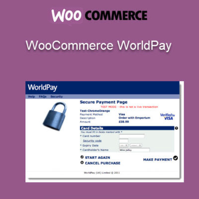 WooCommerce WorldPay