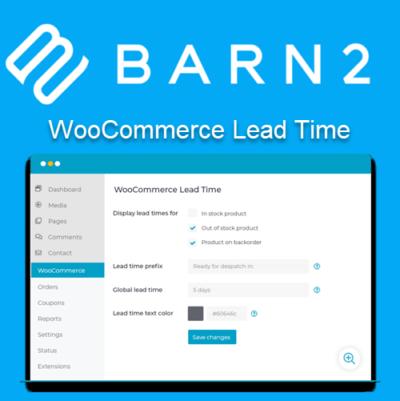 Barn2 WooCommerce Lead Time
