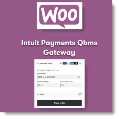Woocommerce Intuit Payments Qbms Gateway