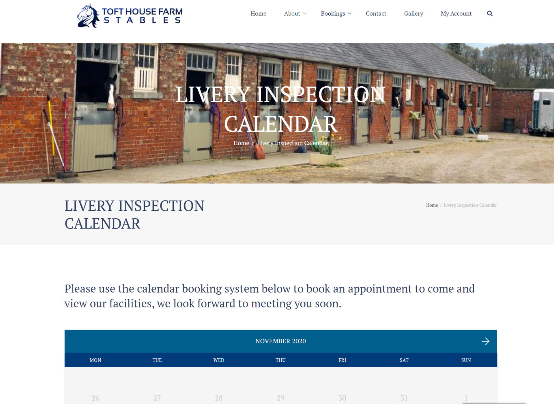 Inspection Booking