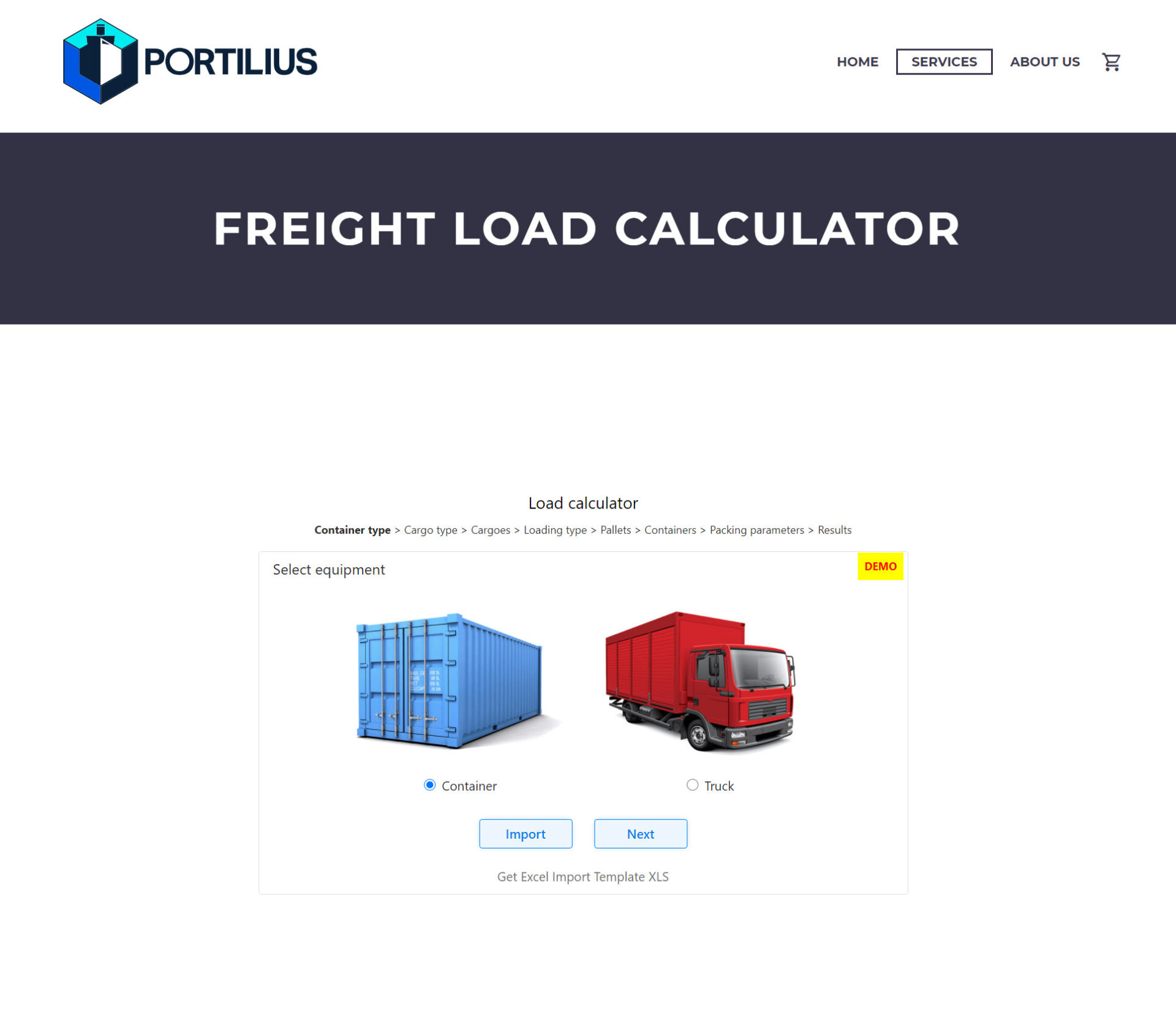 Freightloadcalculator